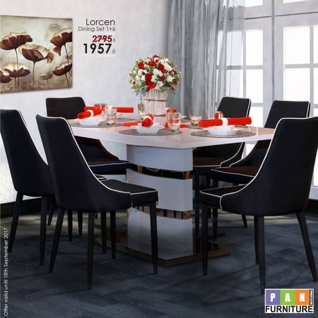 Offers Lorcen Dining Set  -  PanEmirates Qatar