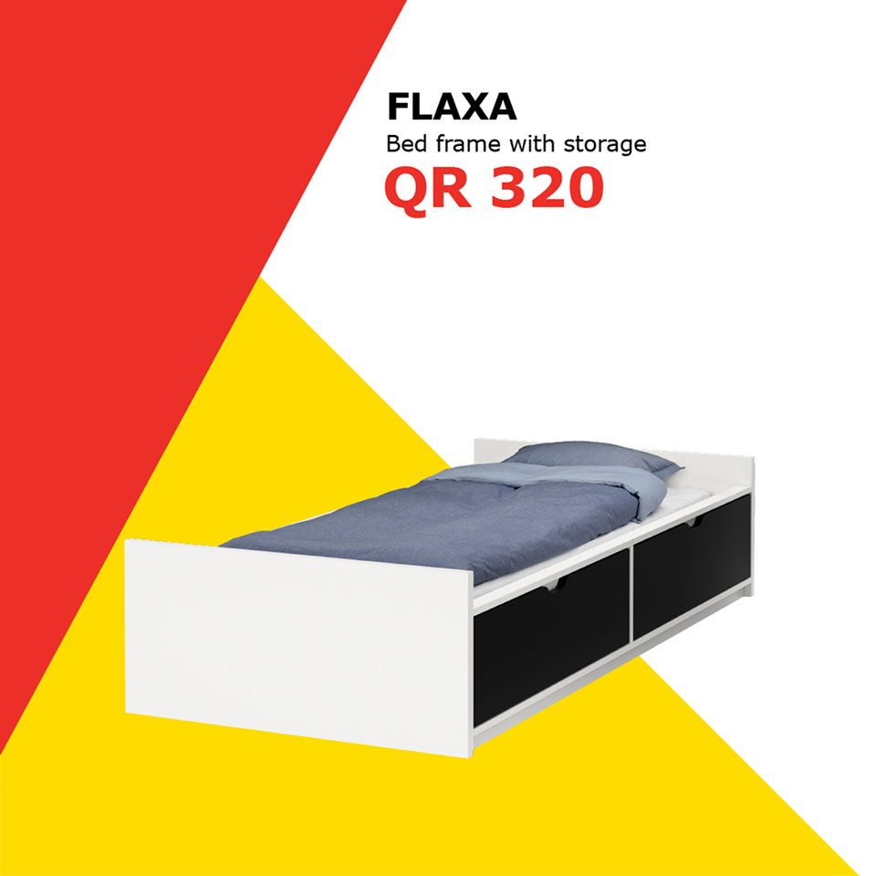 Ikea Qatar offers on Flaxa bed frame