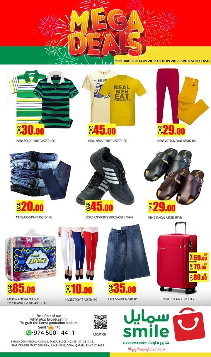 CLOTHING Offers - Smile Hypermarket Qatar