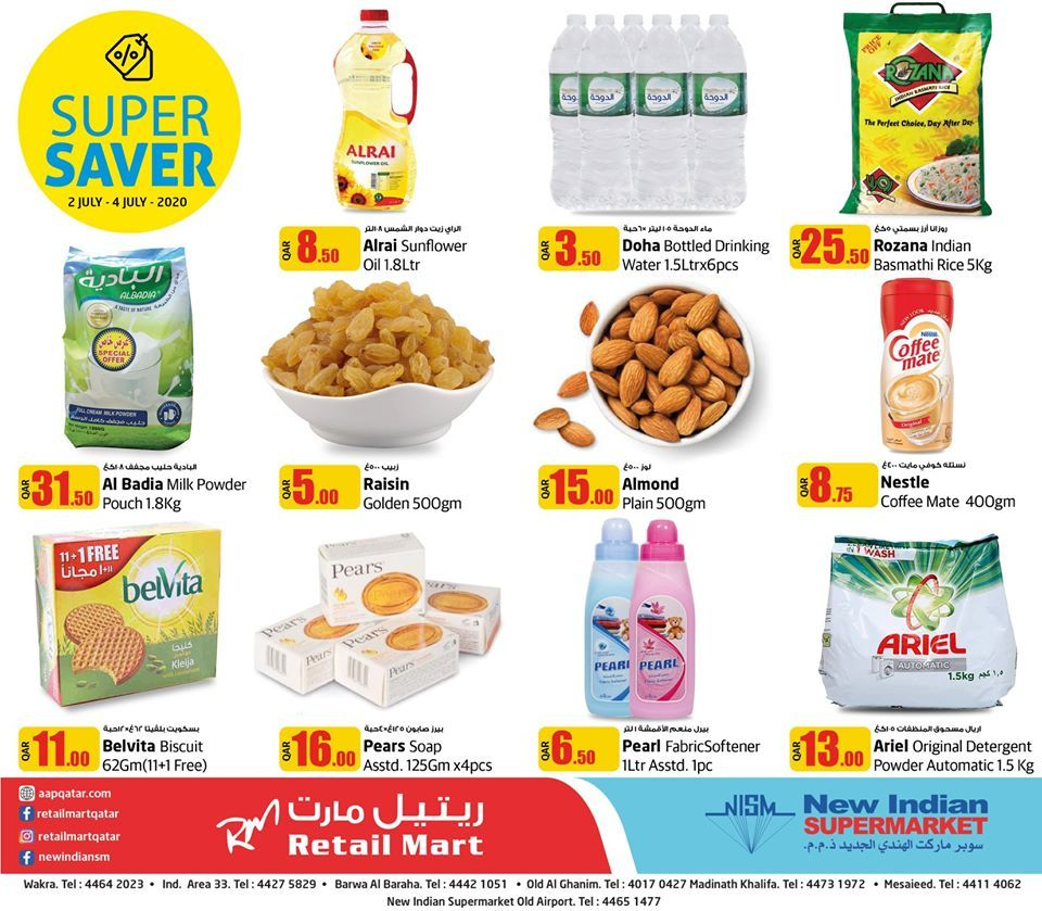 New Indian supermarket qatar offer 2020