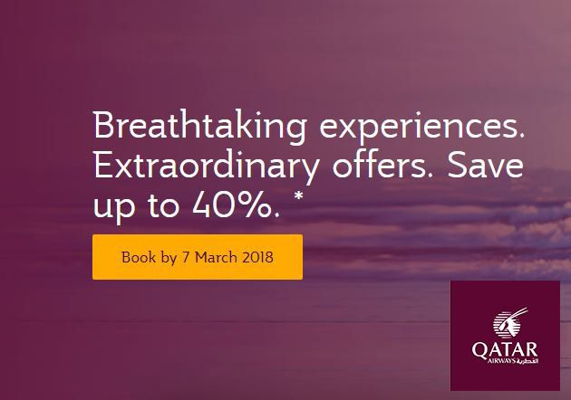 Qatar Airways Offers - latest flight deals