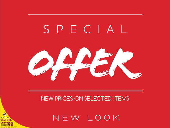 Special Offer - new look