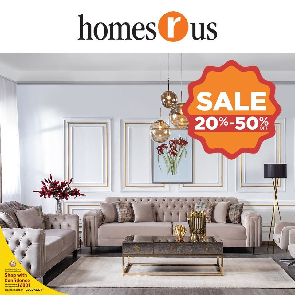 Homes R Us Qatar Offers  2020