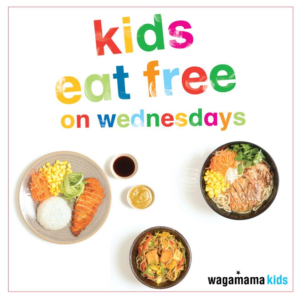 Kids Eat Free On Wednesdays at Wagamama Qatar
