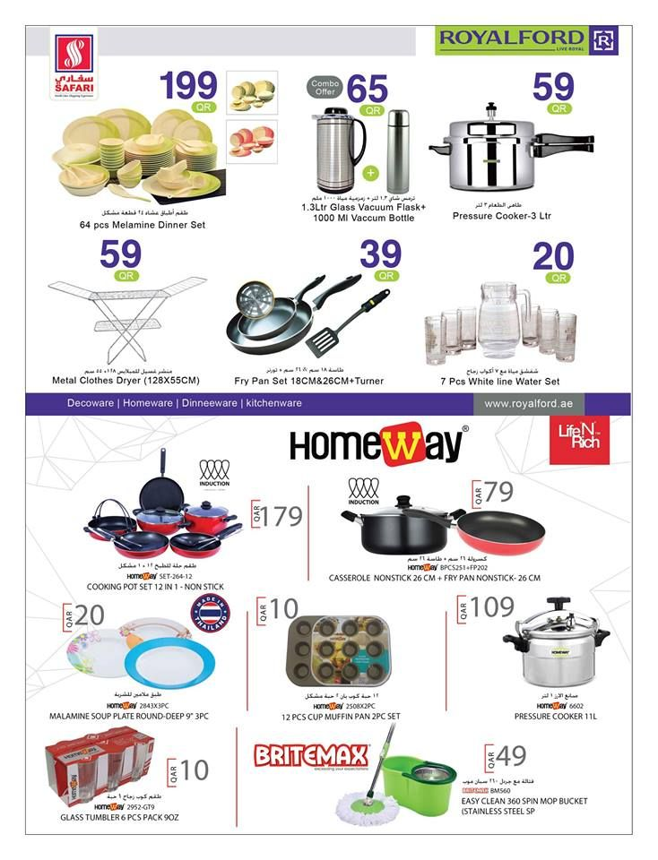 Safari Hypermarket Qatar offers