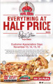 Everything at Half Price