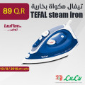 TEFAL steam iron FV1215MO