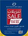 Sale  Up To  50% - Blue Salon