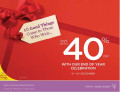 Save Up to 40 % Off