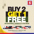 Safari Qatar Offers - Buy  2  Get 1 Free