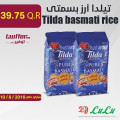 تيلدا أرز بسمتى 2كغ/2حبة