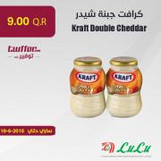 Kraft Double cheddar