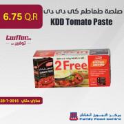 KDD Tomato Paste