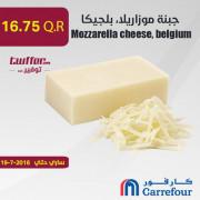 Mozzarella cheese, belgium