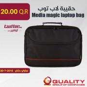 Media magic laptop bag
