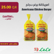 Americana Chicken Burger