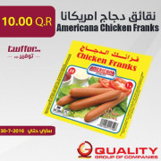 Americana Chicken Franks