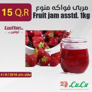 Fruit jam asstd. 1kg