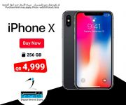 Zarabi Qatar Offers ON i phone X 256GB
