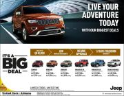 Live Your Adventure Today with our Biggest Deals - United Cars Almana