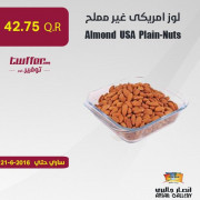 Almond USA Plain-Nuts