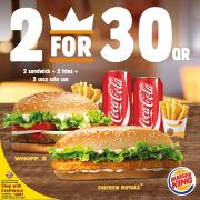Burger King Qatar Offers