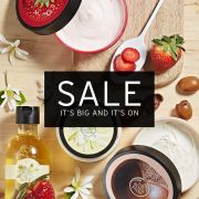 BIG SALE IS NOW ON, up to 50% off - The Body Shop