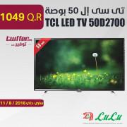 TCL LED TV 50D2700
