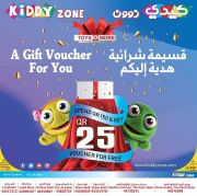 Kiddy Zone Offers Qatar