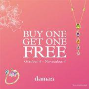 Buy One Get One Free -  Damas Jewellery Qatar