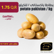 potato pakistan / kg