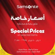Samsonite Qatar Offers - Shop Qatar Festival