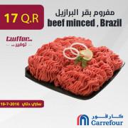 beef minced , Brazil