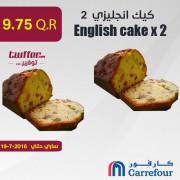 English cake x 2