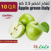 Apple green italy 2.5kg