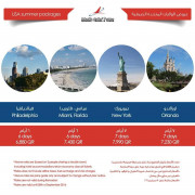 USA summer packages