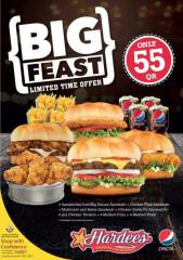 Big Feast - Hardee's
