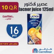 عصير لاكنور 125 مل نكهات متنوعة