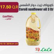 Coroli sunflower oil 3 ltr