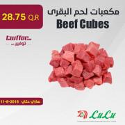 Beef Cubes