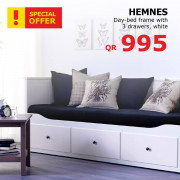 Ikea Special Offers - Day-bed frame with 3 drawers