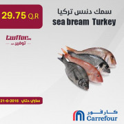Sea bream turkey