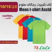 Mens t-shirt Asstd