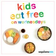 Kids Eat Free On Wednesdays at Wagamama Qatar
