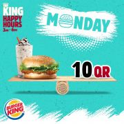 Burger King Qatar Offers 2019