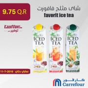 favorit ice tea