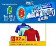 Deal of The Day -  Clothing