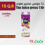 The Juice press 1 ltr