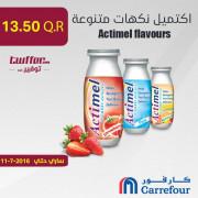 Actimel flavours