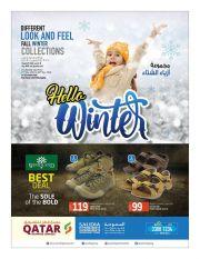 HELLO WINTER - Saudia Hyper Market  Qatar